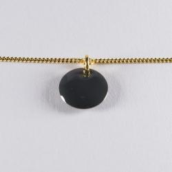 Bracelet vermeil avec confetti gris - Na na na naa