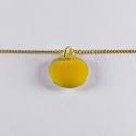 Bracelet vermeil avec confetti jaune - Na na na naa