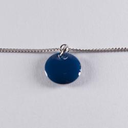 Bracelet argent avec confetti bleu nuit - Na na na naa