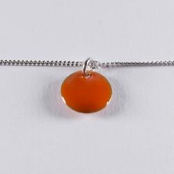 Bracelet argent avec confetti orange - Na na na naa
