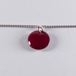 Bracelet argent avec confetti rouge - Na na na naa