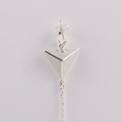 Boucles d'oreilles Triangle - L'Atelier d'Olivia