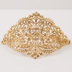 Bracelet dentelle doré à l'or rose by Mélanie