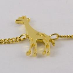 Bracelet girafe vermeil na na na naa
