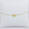 Bracelet étoile plaqué or -Les Curiosités d'Elixir