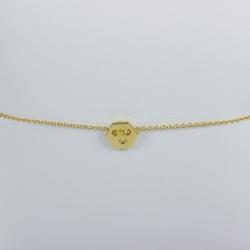 Bracelet or hexagonal - Les Curiosités d'Elixir