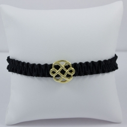 Bracelet vermeil Love Flower by AnnaO