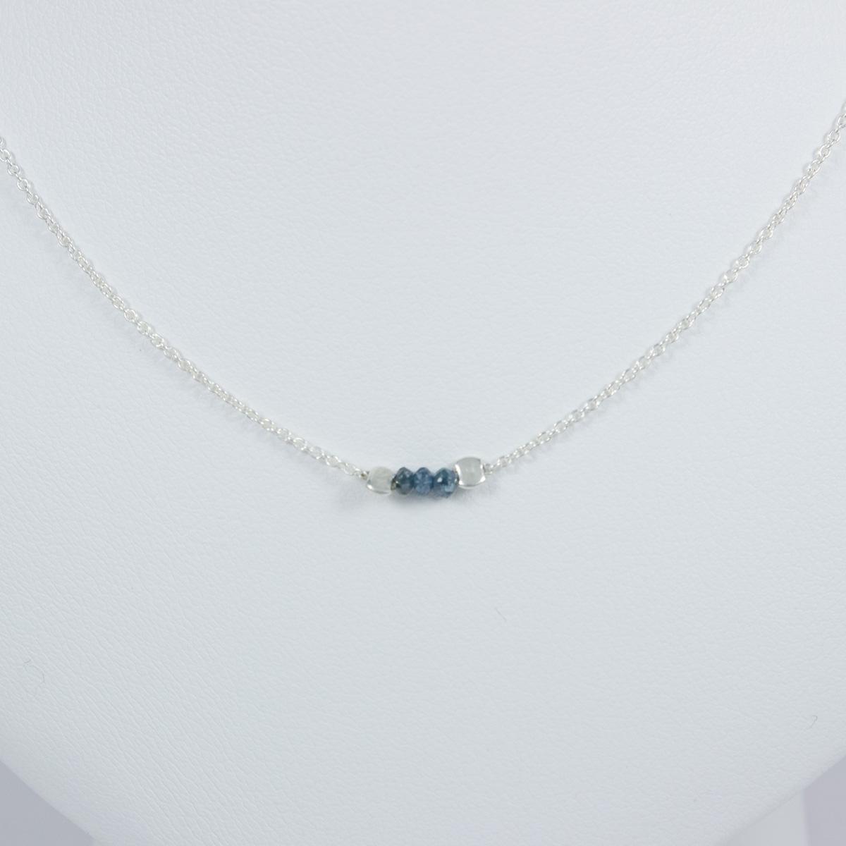 Préférence Collier diamant Bleu - Les folies de Mélanie DV94