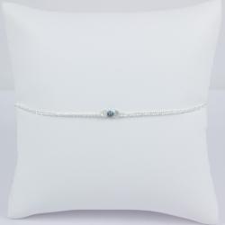Bracelet diamant bleu Frozen Blue Star