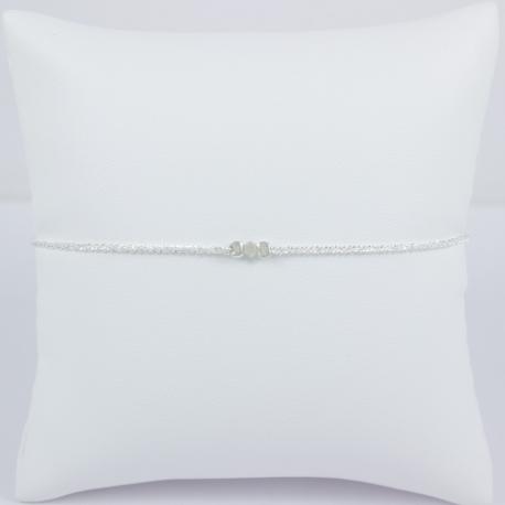 Bracelet diamant gris Frozen Gray Star