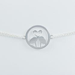 Bracelet flamant argent 925 by LFDM - Collections Capsules
