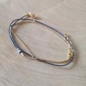 Bracelet triple tour modèle Sofia by LFDM Jewel