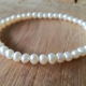 Bracelet perles fines blanches by LFDM Jewels
