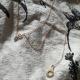 Sautoir menotte argent doré modèle Emprise collection Close Up by LFDM