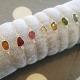 Tourmaline rose cut - bracelet argent 925