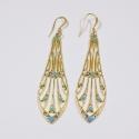 Boucles d'oreilles dorées Libellule - Schade Jewellery