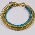 Bracelet doré Lézard - Schade Jewellery