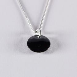 Collier confetti noir et argent - Na na na naa