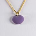 Pendentif confetti vermeil violet - Na na na naa