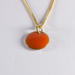 Collier confetti vermeil orange - Na na na naa