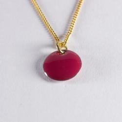 Pendentif confetti vermeil rouge - Na na na naa