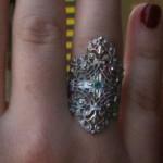 Marquise_Divine_argent et émeraude_Schade Jewellery
