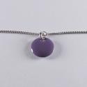 Bracelet argent avec confetti violet - Na na na naa