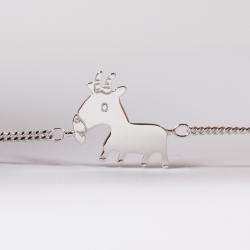 Bracelet Arnaud le chevreau argent - Na na na naa