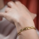 Bracelet doré Dragon - Schade Jewellery