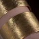 Manchette dorée Sable grand modèle - Schade Jewellery