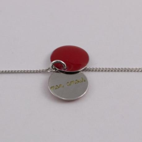 Bracelet amour argent