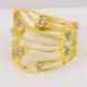 Bague dorée Libellule - Schade Jewellery
