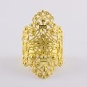 Bague dentelle Divine doree - Schade Jewellery