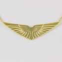 Collier ailes doré by Mélanie