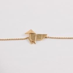 Bracelet japonais doré à l'or rose by Mélanie