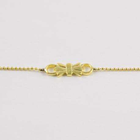 Bracelet noeud doré by Mélanie