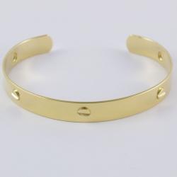Bracelet boulon doré by Mélanie