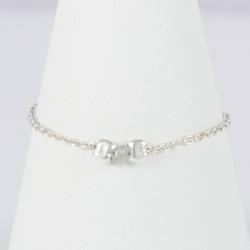 Diamant gris bague chaine argent Gray Star