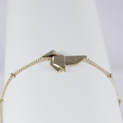 Bracelet japonais plaqué or rose by LFDM