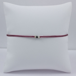 Bracelet lien bordeaux Black Star