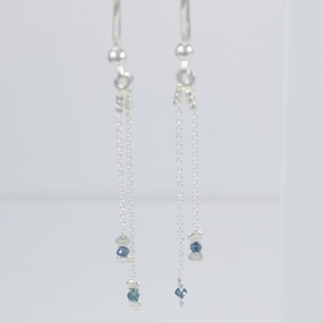 BO doubles diamant bleu little tandem Blue Star