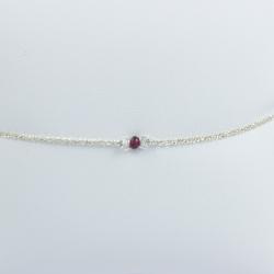 Bracelet rubis frozen red star by LFDM