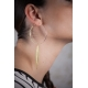 Créoles dorées Plume - Schade Jewellery
