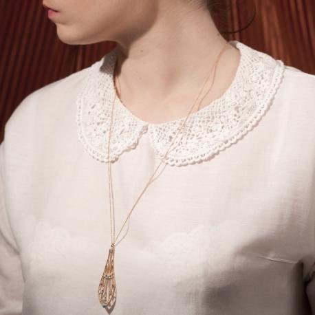 Collier doré Libellule - Schade Jewellery