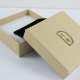 Boucles d'oreilles saphir orange dit Padparadscha argent doré or champagne by LFDM Jewels