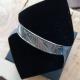 Bangle noir brillant (ruthénium) by LFDM Jewels