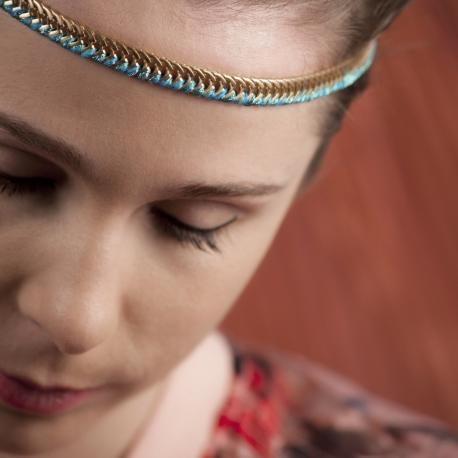 Headband doré Lézard - Schade Jewellery