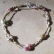 Bracelet Meldrine - modèle n°1 - Tourmalines