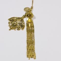 Sautoir doré Papyrus - Schade Jewellery