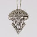 Collier  indien Sioux argenté - Schade Jewellery